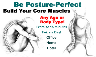 Posture Perfect:  Abs training